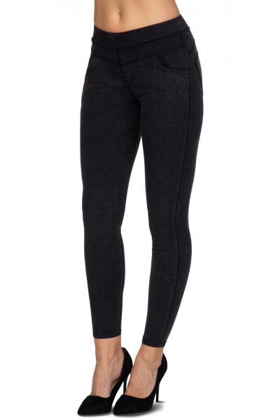 LENGHT COTTON LEGGINGS WITH LACE 3/4