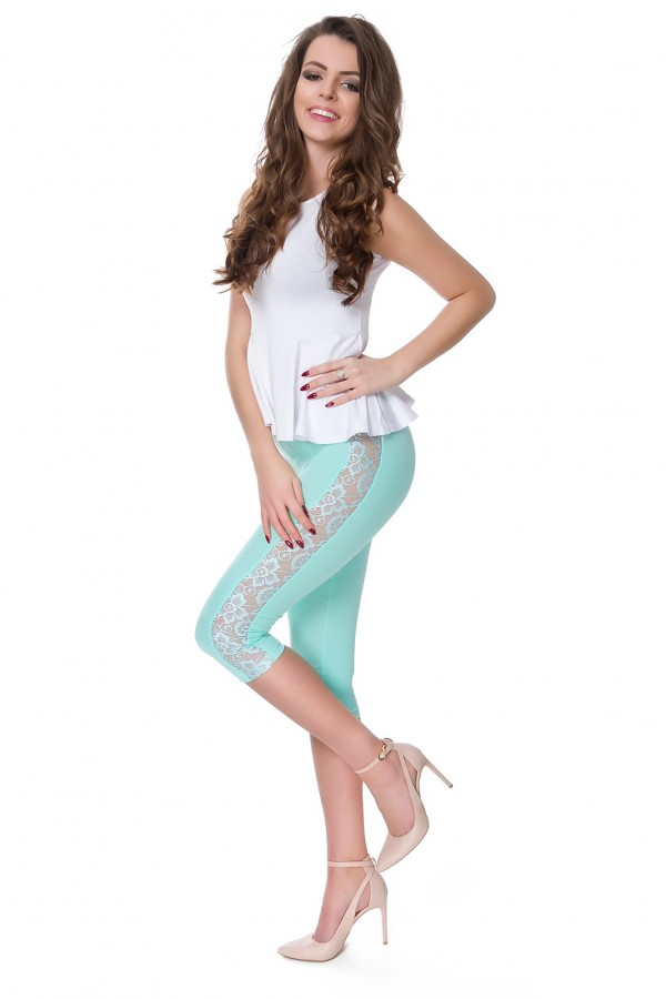 Cropped 3/4 Length Soft Cotton...