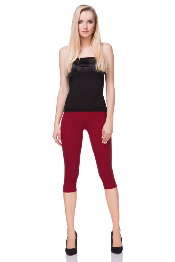Classic Cropped 3/4 Length Leggings...