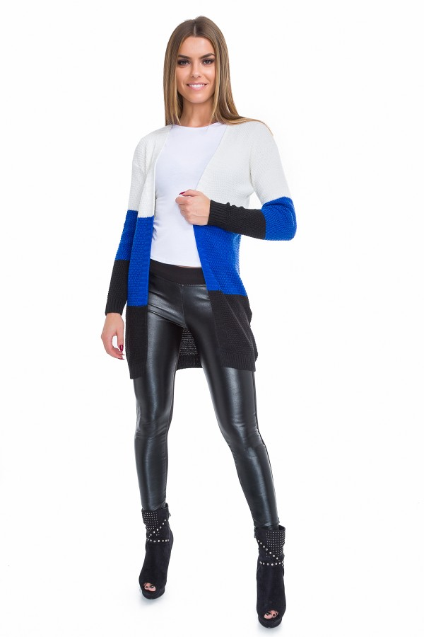 Women's Cardigan with Belt & Pockets...