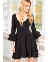 WOMEN'S SHIFT DRESS 3/4 SLEEVE FA323