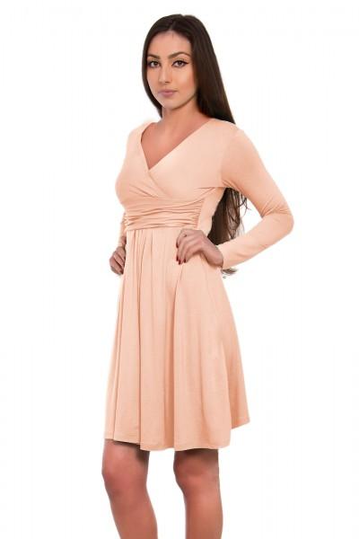 Sukienka z długimi rękawami