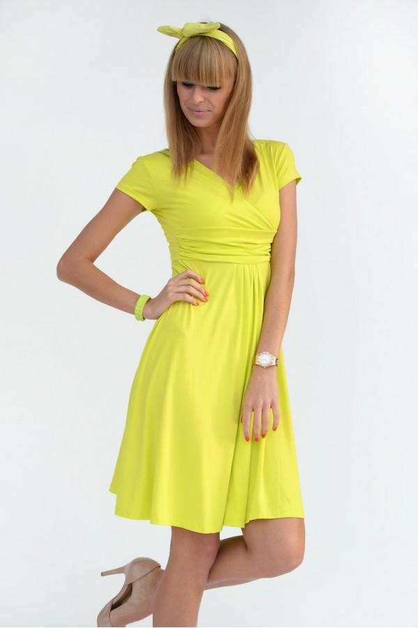 WOMEN'S MULTICOLOUR TIERED DRESS FA338