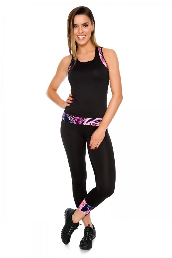 Electro leggings + top set