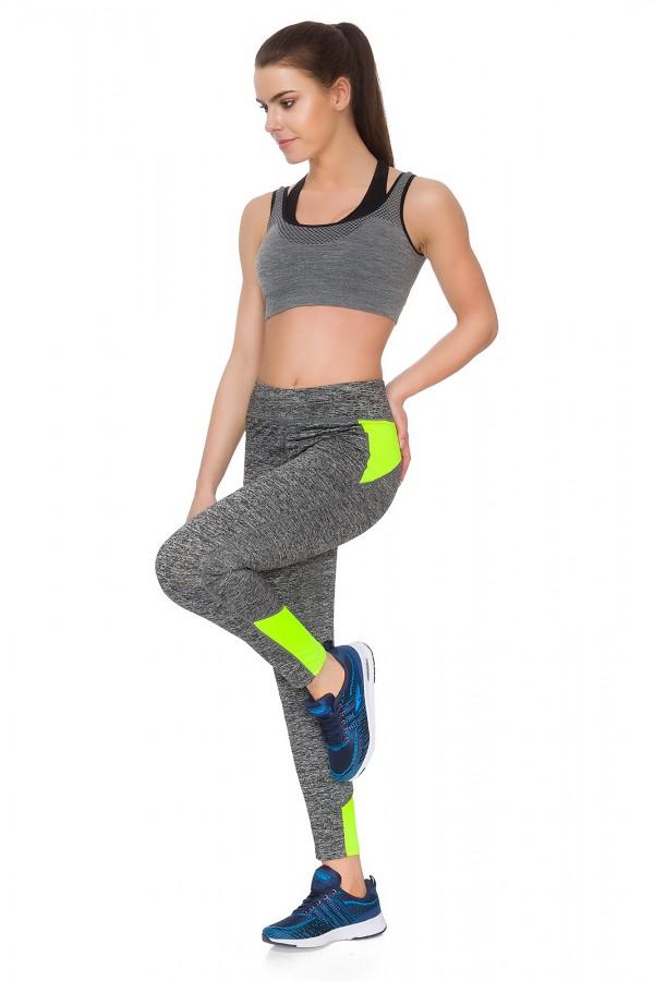 Womens Sport Leggings Full Length •...