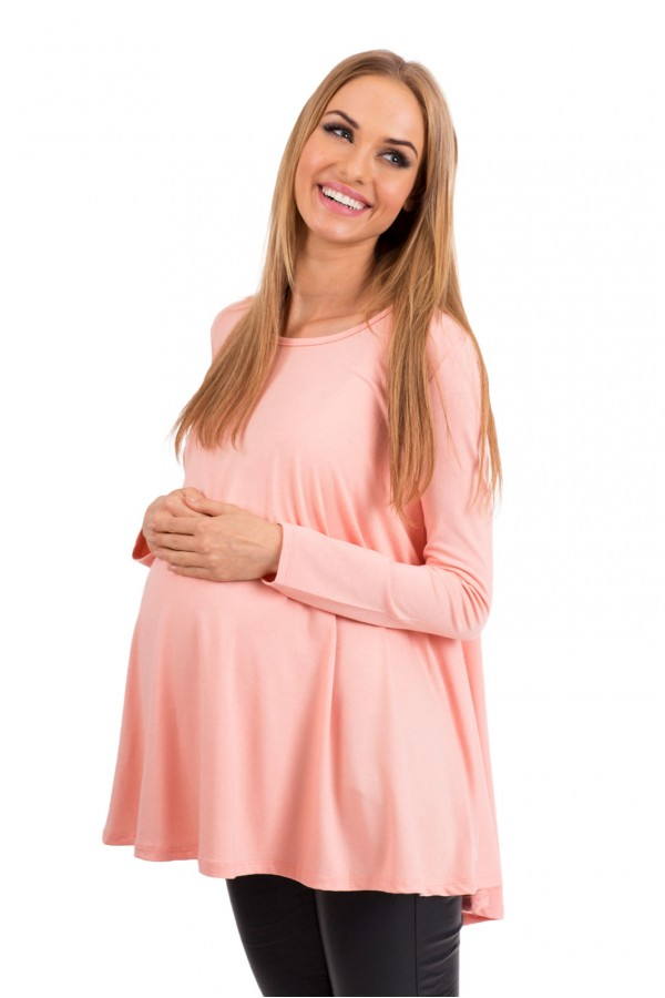 Loose maternity blouse