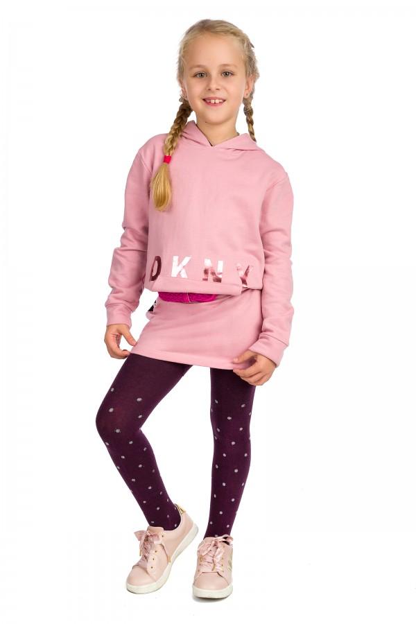 Girl's Tights Kids Warm Cotton Dots...