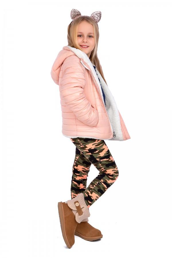 Girl's Leggings Military Childs Pants...