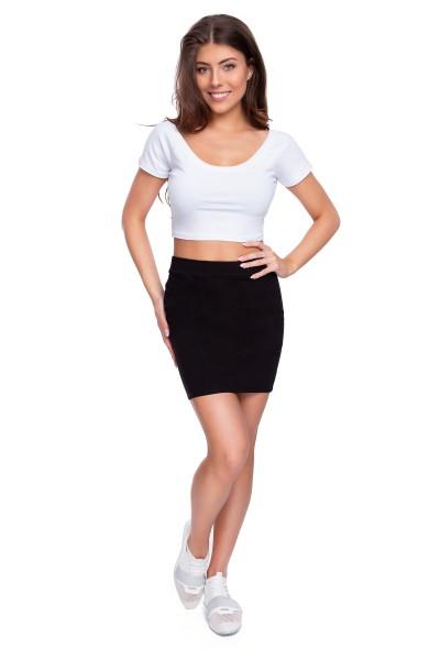 SET • Crop Top + Mini Skirt...