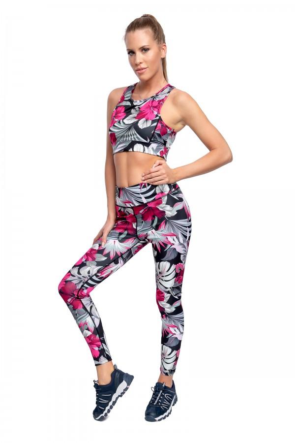 Women Gym Set High Waist Slimming...