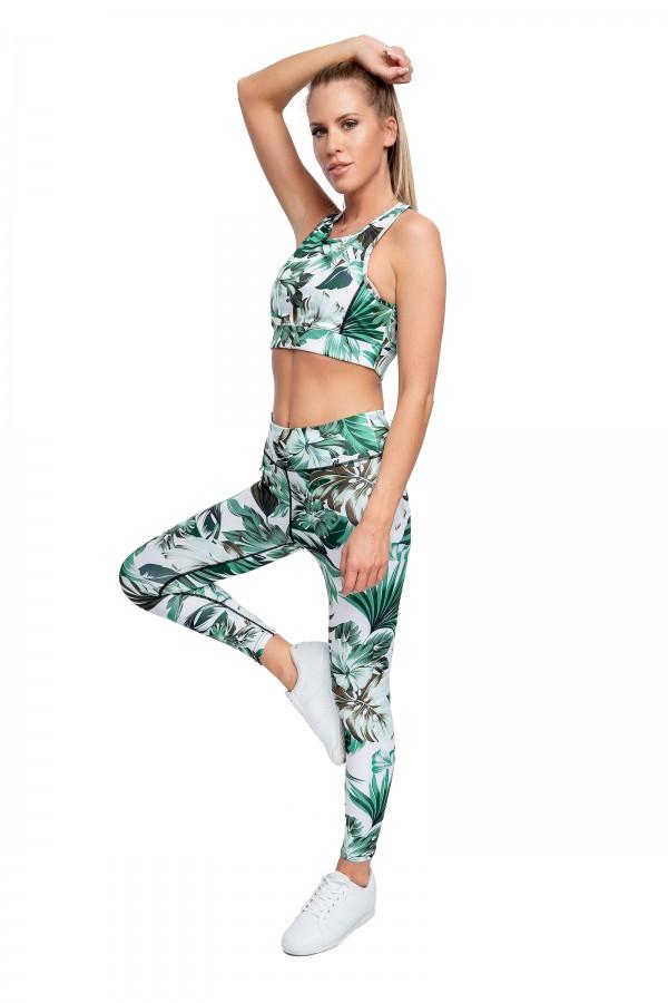 Sports set top + leggings JUNGLE