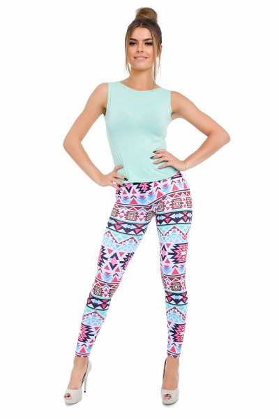 Sport leggings Boho Green