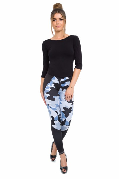 Sport leggings Camo Black...