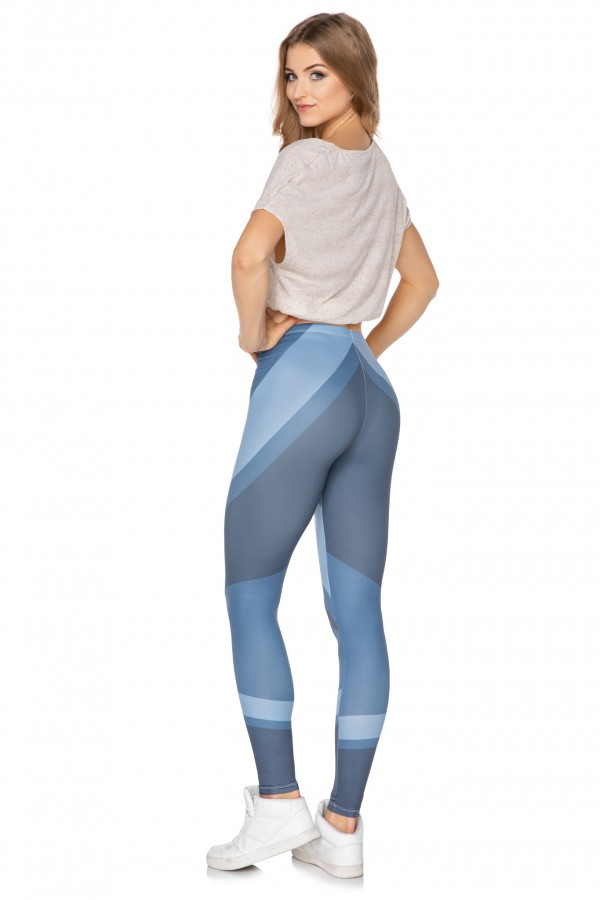 Sport leggings • Shades Of Blue •
