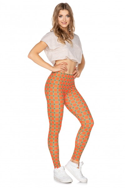 Sport leggings Crazy Orange