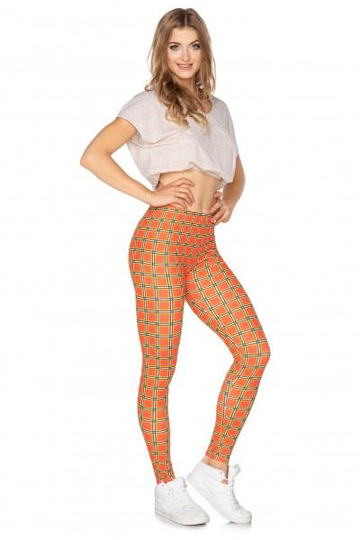 Sport leggings Crazy Orange