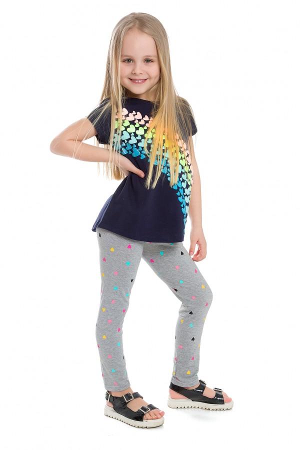 Girl's Bamboo Fabric Printed Leggings...