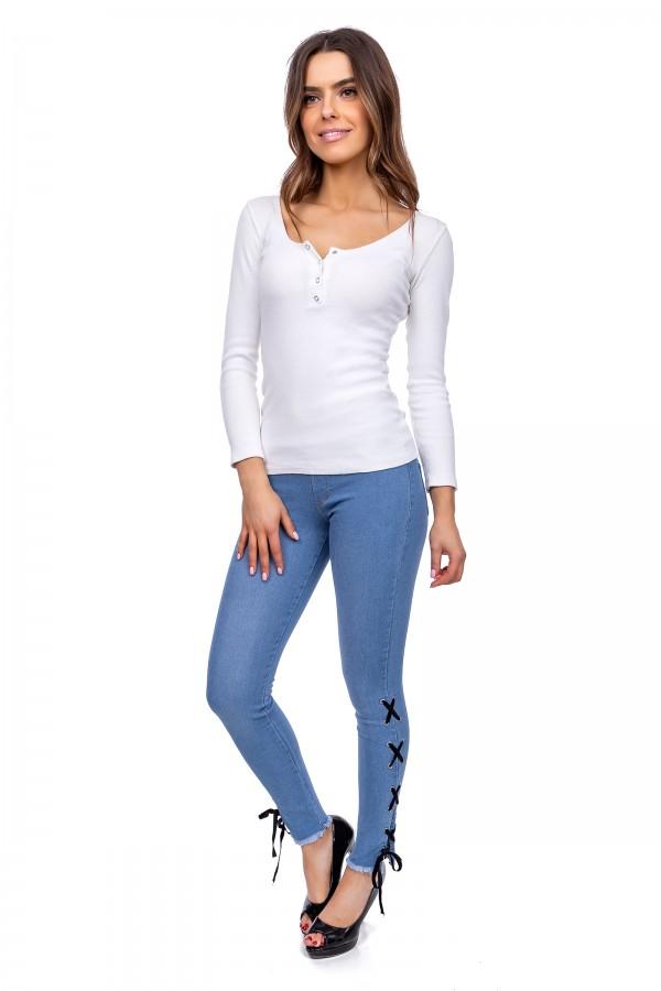 Women Denim Pants Imitation Jeggings...