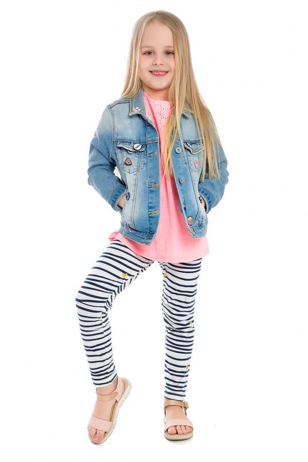 Długie dziecięce legginsy we wzory