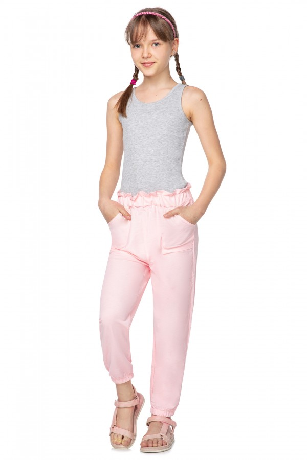 Girl's harem pants with pockets • FS1596