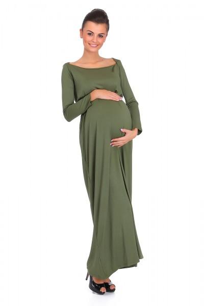 Elegancka, długa sukienka...