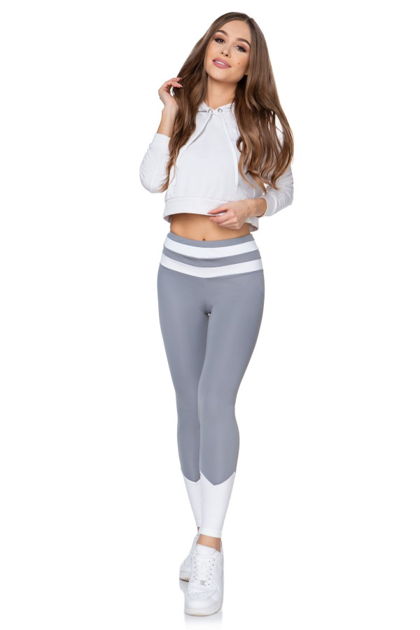 Sport High Waisted Workout Leggings •...