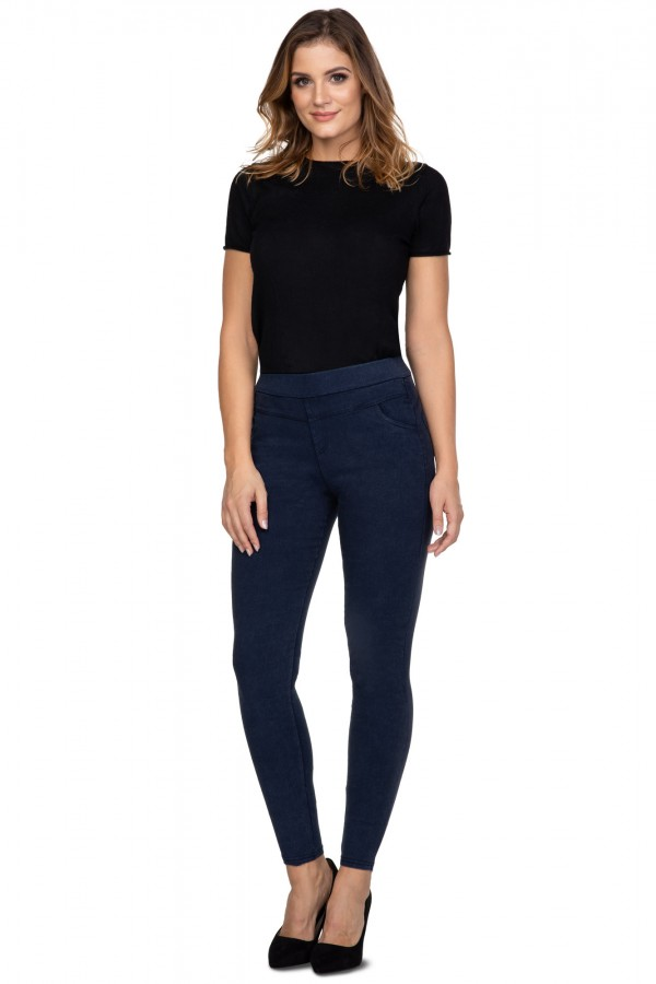 Jeggings with high waist and pockets...