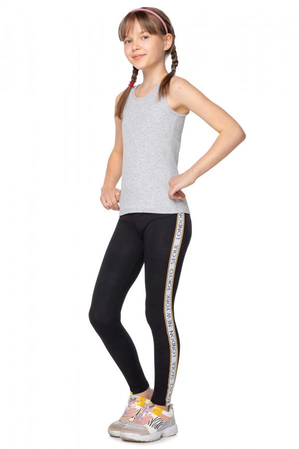 Girl's Sports Leggings Kids Neon...