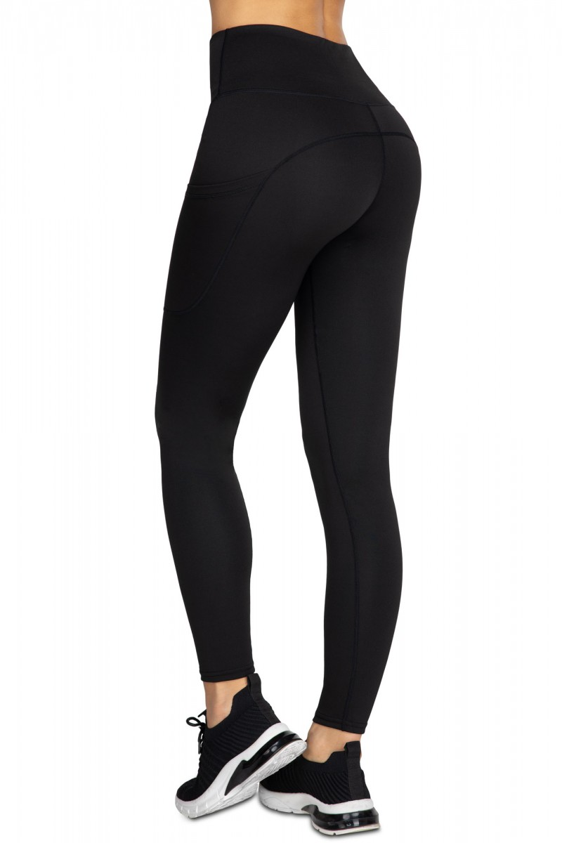 excellent quality newest style of website for discount Shiny Full Length High Waist Leggings LATEX