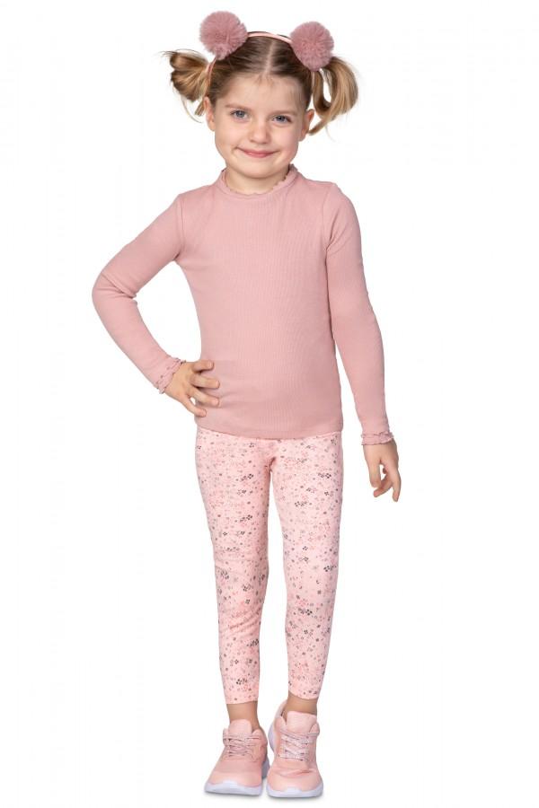Dziecięce bawełniane legginsy •...