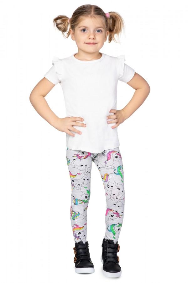 Kids Cotton Leggings 3 Patterns • FR1076