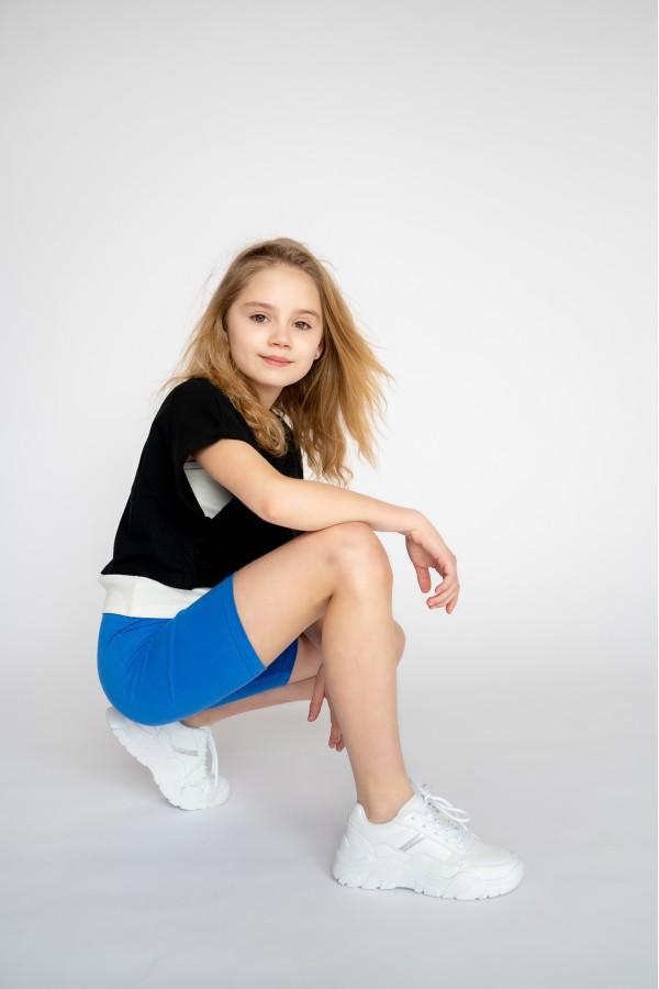 NEW! Kids 1/2 Length Cotton Shorts •...
