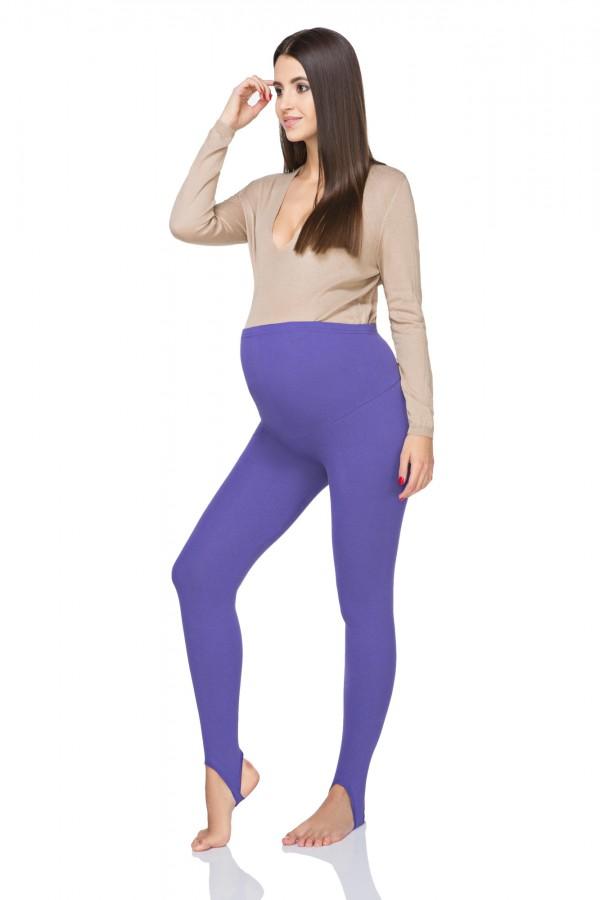 Warm maternity stirrup leggings