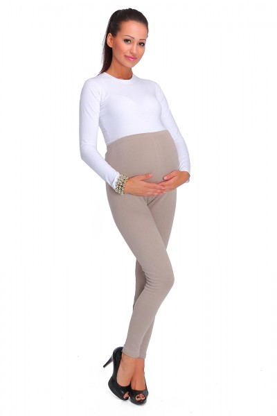 Warm Maternity Leggings •...