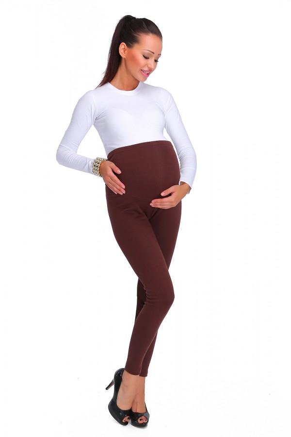 Warm maternity leggings