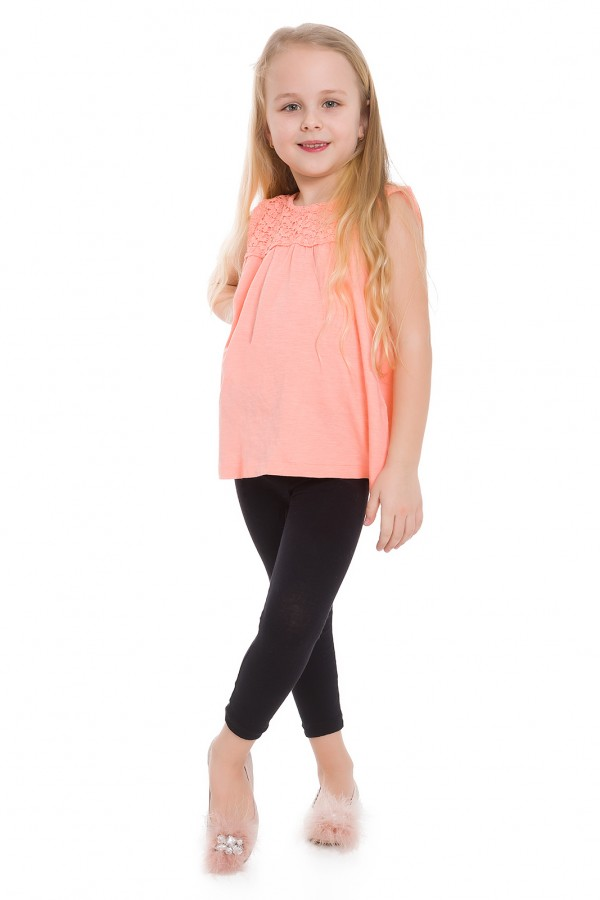 Girl's Plain Cotton Thick Full Length...