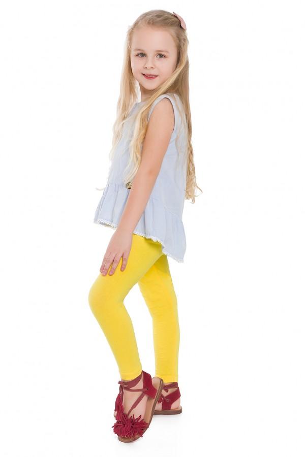 Girl's Plain Cotton Thick Full Length...