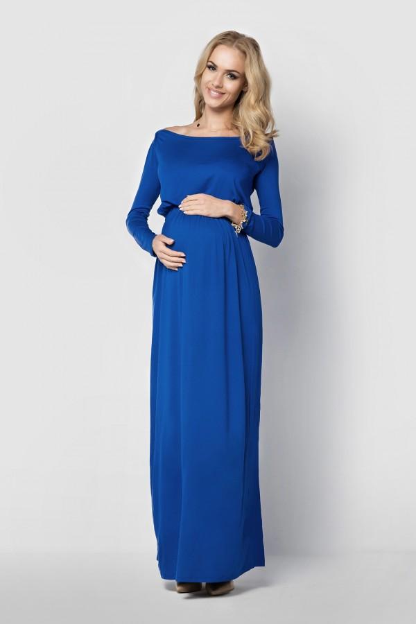 Elegant Maxi Dress Maternity Cocktail...
