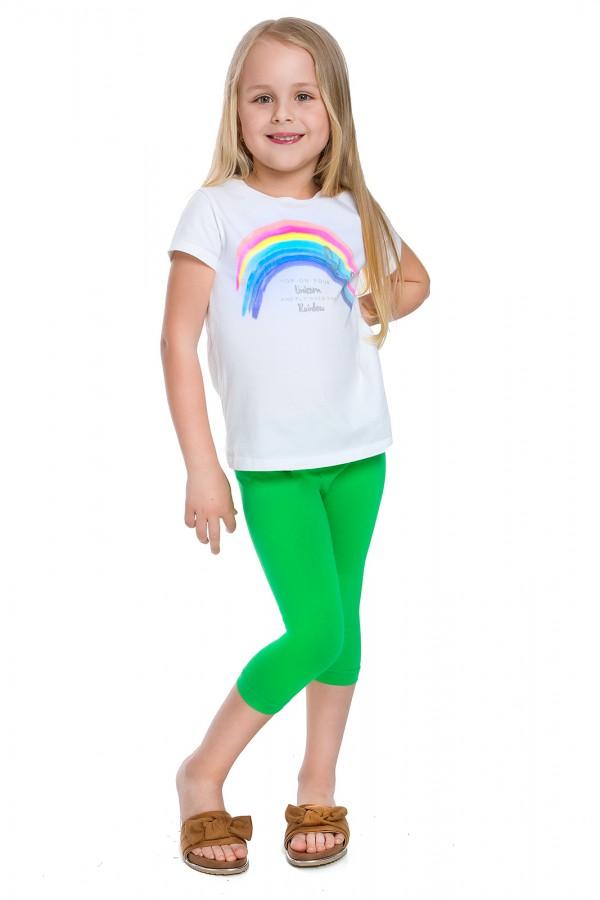 Klasyczne legginsy 3/4 dziecięce
