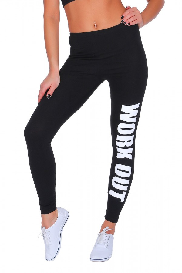 • Work Out • Printed Leggings Joggers