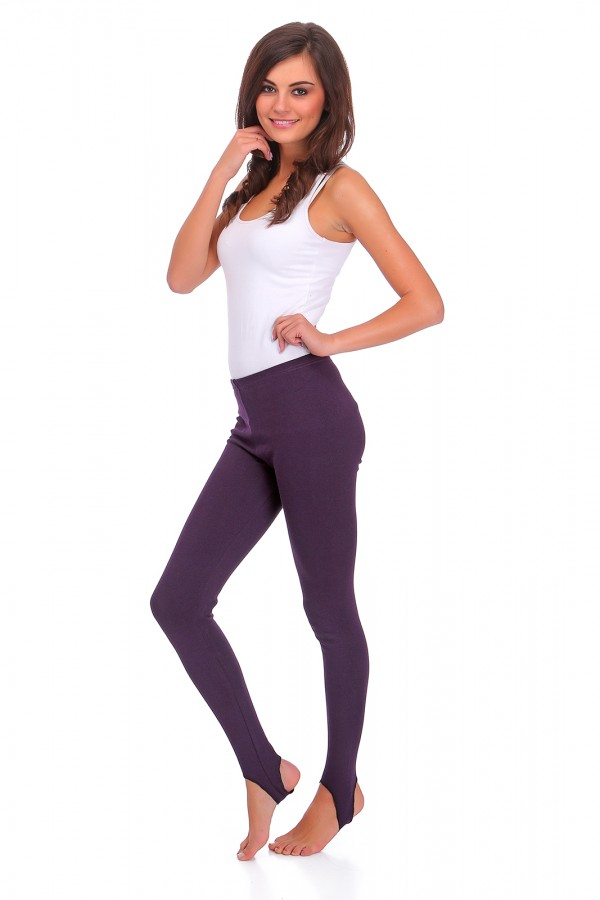 Warm Stirrup Leggings Soft Fleece...