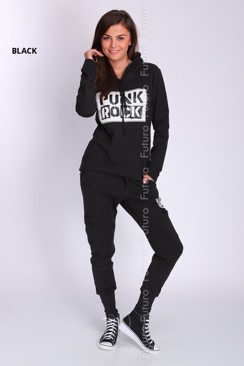 Ladies Two Pieces Tracksuit Hoodie Sweatshirt Pants Trousers Sizes 8-14 FT2033