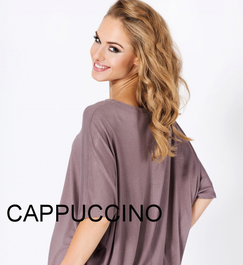 Casual Loose Fit Top Scoop Neck Short Sleeve T-Shirt Party Tunic Sizes 8-18 FM06